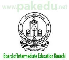 BIEK, Board of Intermediate Education Karachi
