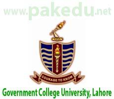 GCU-L, GCU, Government College University Lahore