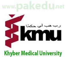 KMU, Khyber Medical University Peshawar