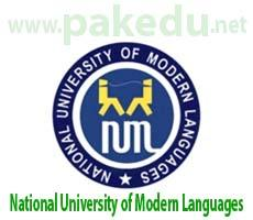 NUML, National University of Modern Languages
