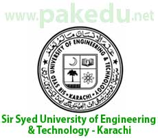 SSUET, Sir Syed University of Engineering and Technology