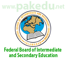 FBISE, Federal Board of Intermediate and Secondary Education