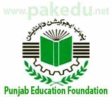 PEF, Punjab Education Foundation