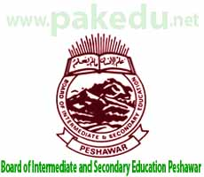 BISE-P, BISEP, BISE Peshawar, Board of Intermediate and Secondary Education (BISE) Peshawar