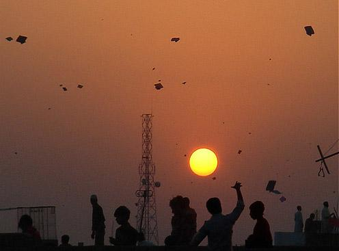 Kite-flying festival welcomed Basant mela