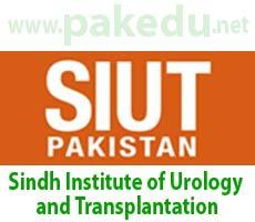 SIUT, Sindh Institute of Urology and Transplantation