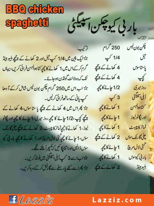 Wpid BBQ Chicken Spaghetti Garlic Pasta Recipes In Urdu English Chef Shireen Anwar Masala Morning Tv Show Ramadan Ramzan Eid Special 500x671
