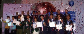 National Science Competition, winners